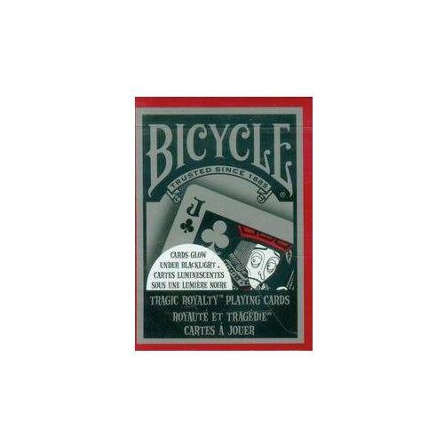Bicycle tragic royalty talia kart marki United states playing card company