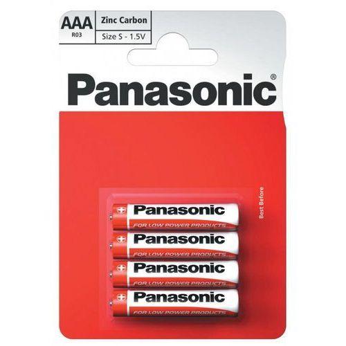 Philips Bateria cynkowo-węglowa panasonic r03 aaa (blister)
