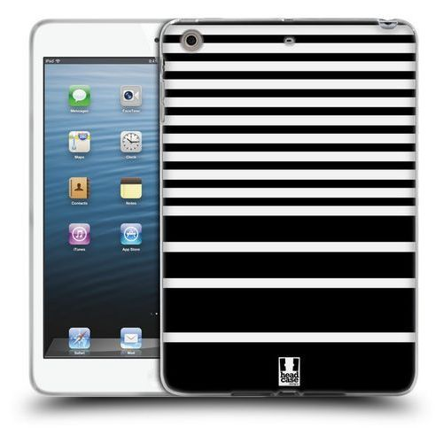 Head case Etui silikonowe na tablet - dynamic stripes black and white