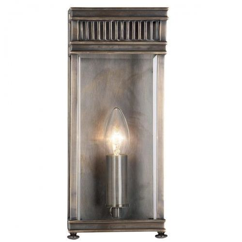 Elstead Zewnętrzna lampa wisząca somerton ch br industrialny zwis metalowy oprawa ogrodowa ip44 outdoor mosiądz (1000000163247)