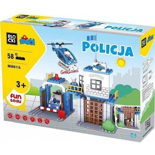 Klocki Blocki Mubi Policja 58 el.