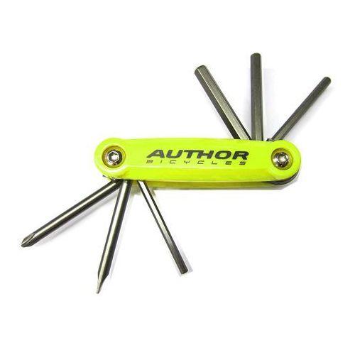 10-000038 zestaw narzędzi/kluczy (scyzoryk) toolbox 6 6 w 1 marki Author