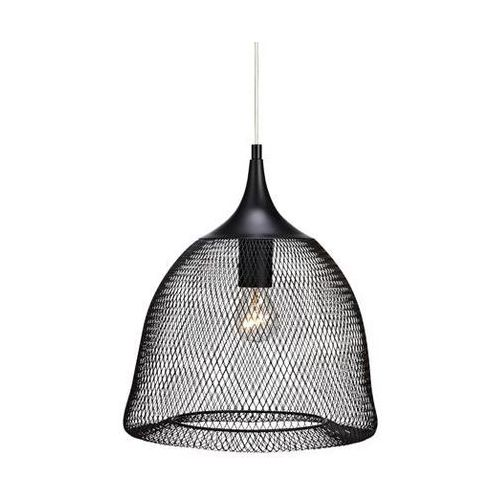 Markslojd Grid 105978 lampa wisząca czarna 60w e27
