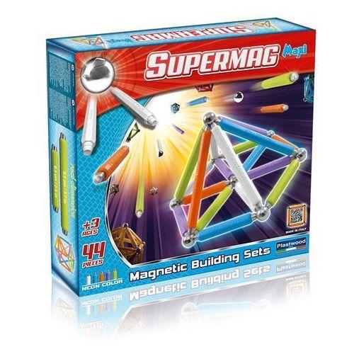 Klocki konstrukcyjne. SupermagMaxi Neon 44