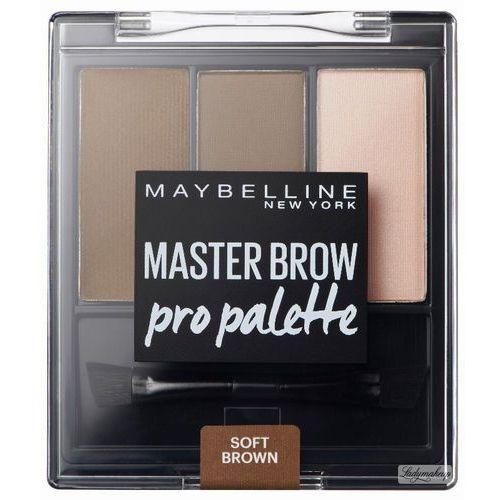 MAYBELLINE - MASTER BROW - Pro Palette - Zestaw do makijażu brwi - DEEP BROWN