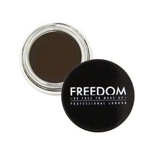 pro brow pomade ebony - pomada do brwi - freedom marki Freedom