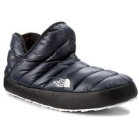 Kapcie THE NORTH FACE - Thermoball Traction Bootie T93MKHYXE Shiny Urban Navy/Tnf White