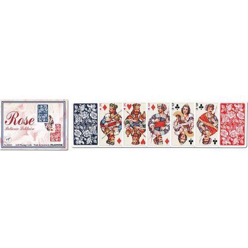 Karty do gry Piatnik 2 talie Róże karty pasjansowe (9001890204432)