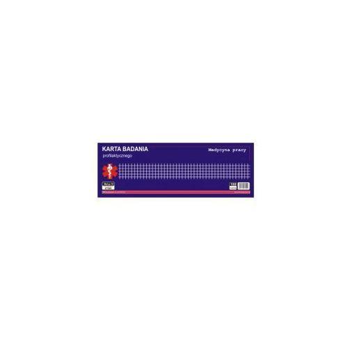 Karta badań profilaktycznych / blok 100 kartek [Mz/Lp-10] - NOWY WZÓR!!!, 47540