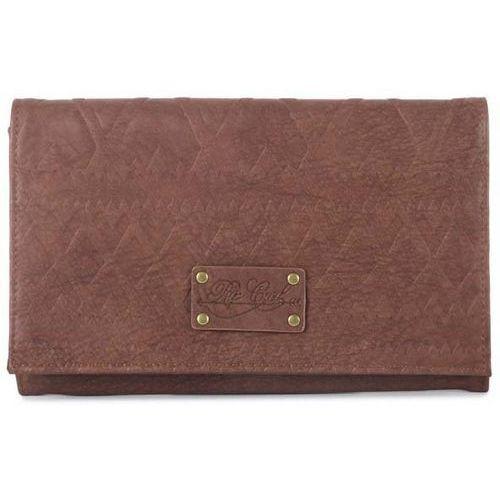 Portfel - navarro pu wallet brown (9) rozmiar: os marki Rip curl