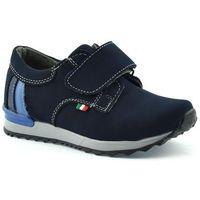 Granatowe półbuty dziecięce Kornecki 06125 - Granatowy, kolor niebieski