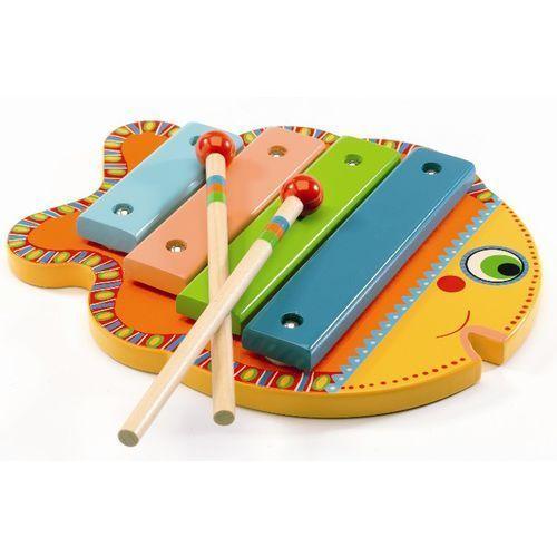 Djeco Drewniane cymbałki - rybka dj06001 (3070900060012)