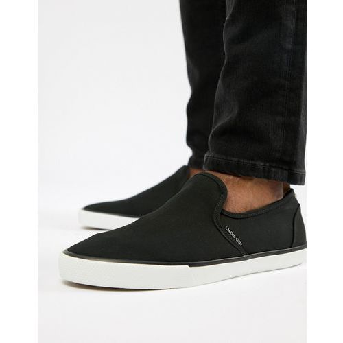 slip on plimsoll - black, Jack & jones