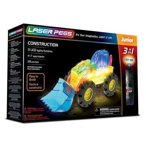 3 in 1 Construction - Laser Pegs