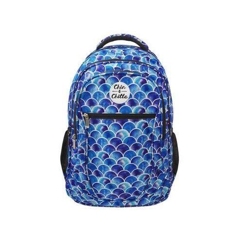 Incood. Plecak łuski niebieski (5900168952690)