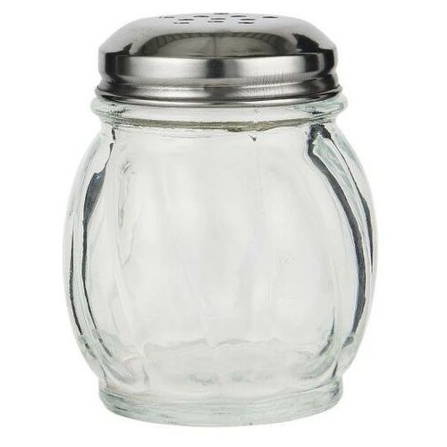 Ib Laursen - Cukierniczka na cukier puder lub cynamon szklana pękata