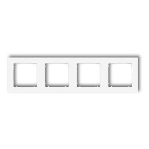 Karlik Ramka poczwórna mini mr-4 biały