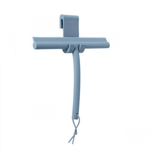 - ściągaczka prysznicowa, niebieska marki Blomus