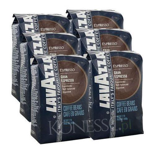ZESTAW - Kawa Lavazza Grand Espresso 6x1kg