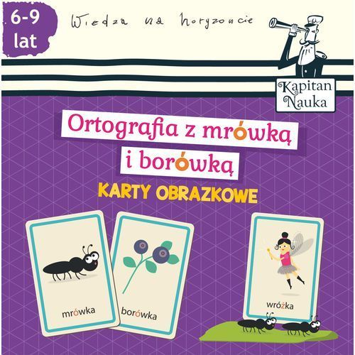Karty obrazkowe Ortografia z mrówką i borówką (6-9 lat) - Wysyłka od 4,99 (2015)