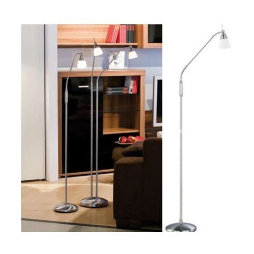 Lampa podłogowa 1xg9 pino 430-55 -srebrna-dotykowa marki Paul neuhaus