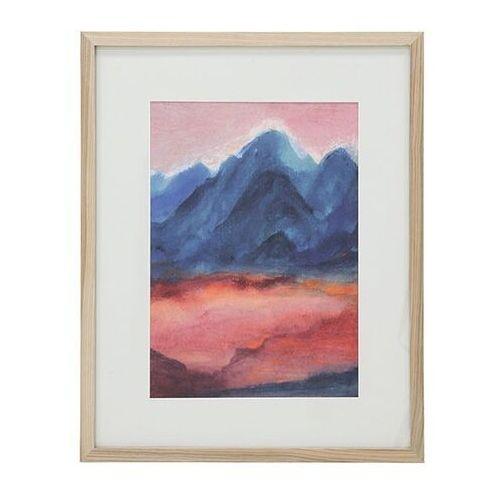 HKliving Mały obraz w ramce rozmiar L: Zachód słońca AWD8870 (8718921024310)