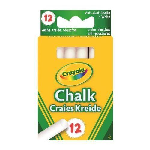 Crayola Kreda niepyląca biała