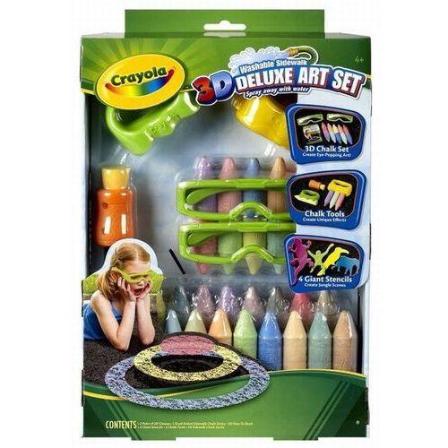 Kreda 3D Crayola zestaw de lux, 0071662150396_686614_001