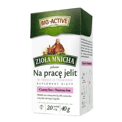Big-active  20x2g zioła mnicha na pracę jelit herbatka ziołowa suplement diety
