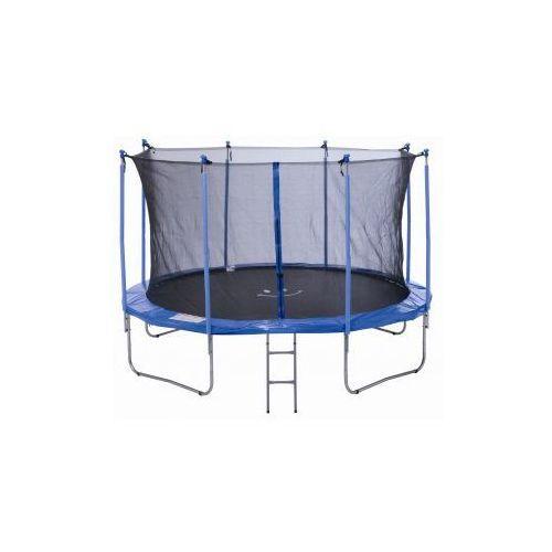 PLATINIUM 366 cm - Zestaw trampoliny z siatką zabezpieczającą