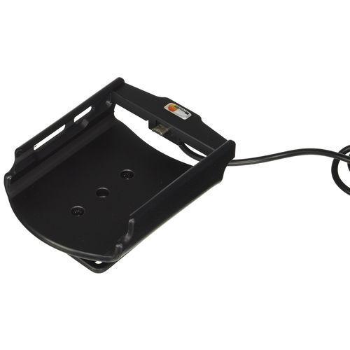 Brodit 521846 aktywny uchwyt z kablem usb i adapter ładowarki samochodowej do sony xperia z5 premium