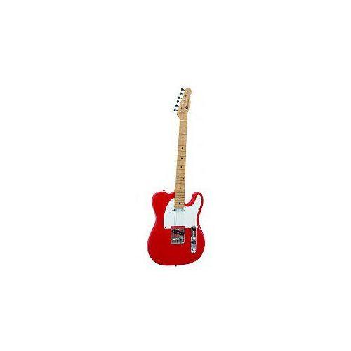 Dimavery TL-201 E-Guitar, red, gitara elektryczna