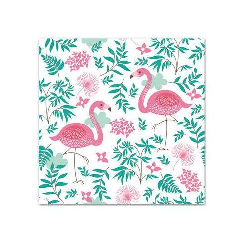 POL-MAK Serwetki 33 x 33 cm, 20 sztuk, Flamingi (SDOG 013301) Darmowy odbiór w 21 miastach!, WIKR-1010415