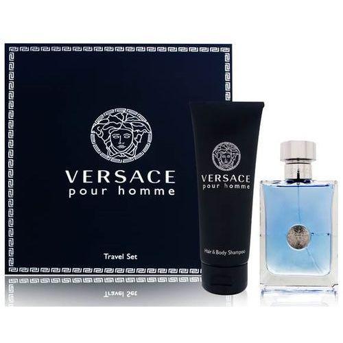 zestaw pour homme edt 100 ml + żel pod prysznic 100 ml marki Versace