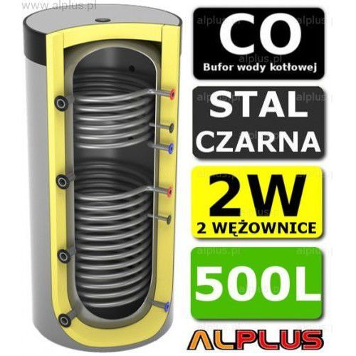 Lemet Bufor 500l do co z 2 wężownicami - zbiornik buforowy zasobnik akumulacyjny 500 litrów - wysyłka gratis