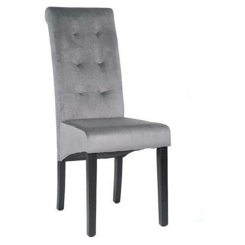 Emwomeble Krzesło drewniane - amaro (my-8765) - welur czarny, nogi czarne