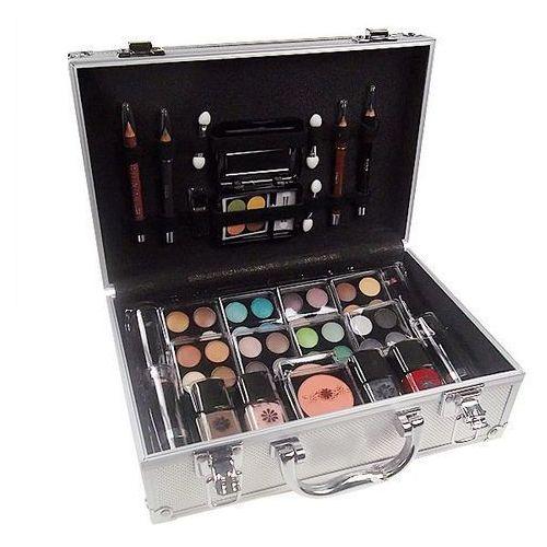 schmink set alu case w kosmetyki zestaw kosmetyków complet make up palette marki Makeup trading