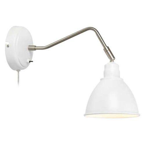 Kinkiet LAMPA ścienna COAST 107311 Markslojd metalowa OPRAWA na wysięgniku reflektorek biały, 107311