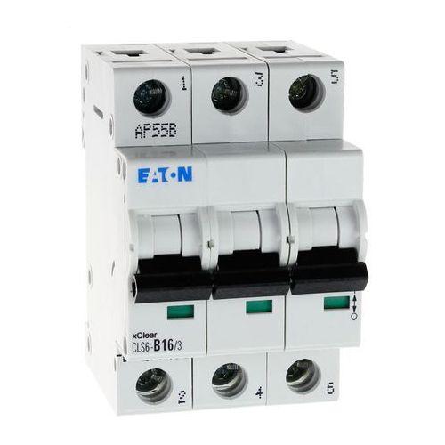 Wyłącznik nadprądowy 3P CLS6 B 16A 6kA AC 270408 Eaton Electric