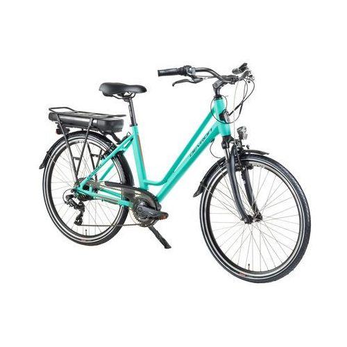 """Miejski rower elektryczny Devron 26122 - model 2018, Black Matt, 18"""" (8596084079893)"""