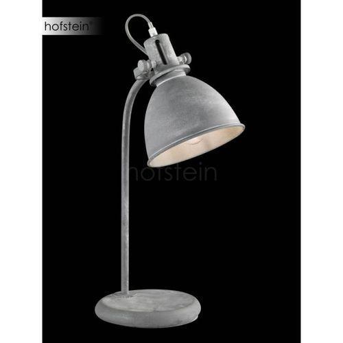Honsel kent lampa stołowa siwy, 1-punktowy - przemysłowy - obszar wewnętrzny - kent - czas dostawy: od 4-8 dni roboczych (4001133591515)