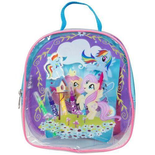 Zestaw kreatywny w plecaku my little pony marki Sambro