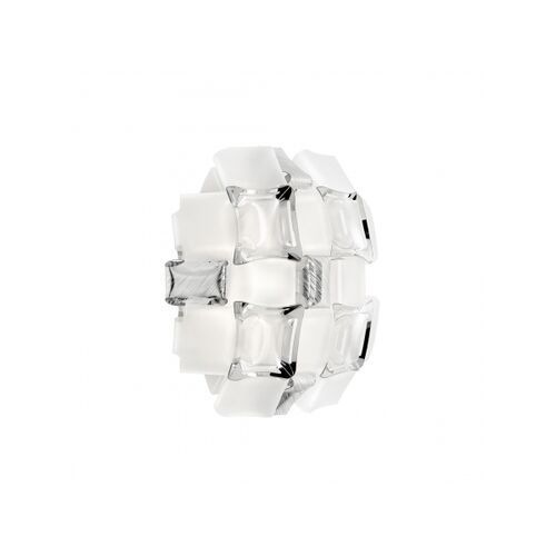 Kinkiet MIDA APPLIQUE WHITE/PLATINUM, SLAMP156
