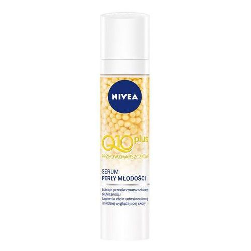 OKAZJA - Nivea  visage q10 plus przeciwzmarszczkowe serum do twarzy perły młodości 40 ml, kategoria: serum do twarzy