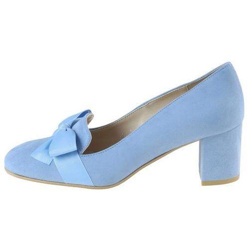 Czółenka Sagan 2839 - Błękitne, kolor niebieski