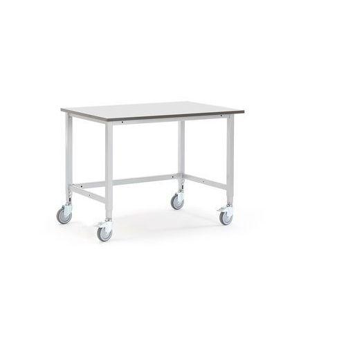 Mobilny stół roboczy MOTION, 1200x800 mm