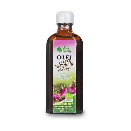 Olej z nasion ostropestu plamistego virgin bio 100 ml - dary natury marki Dary natury - inne bio