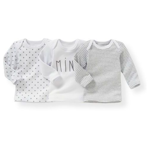 Komplet 3 koszulek z nadrukiem 0 miesięcy - 3 lata marki La redoute collections