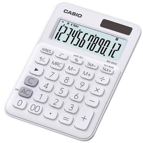 Casio Kalkulator ms-20uc-we-s biały (4549526700071)