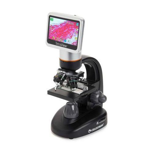 Celestron Mikroskop cyfrowy  tetraview lcd